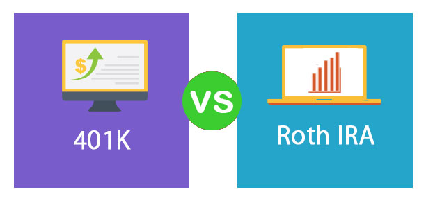 Roth IRA vs 401k - everything you need to know