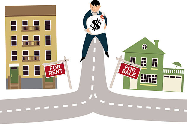 When is renting a house better than buying?